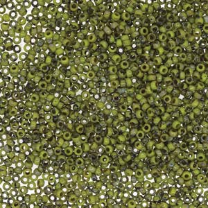 15-94515 15/0 OP CHARTREUSE PICASSO MIYUKI SEED BEAD
