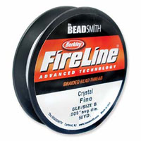 FIRELINE THREAD 8LB, 125YD SMOKE GREY .011